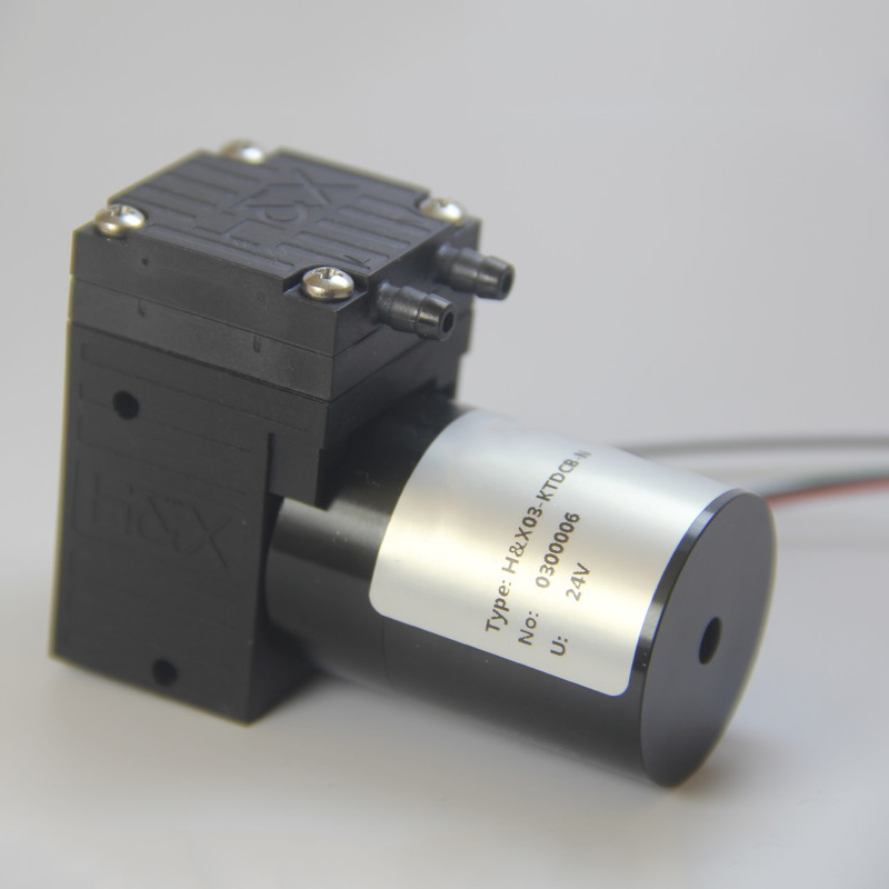HX03-DCB (B) 12V/24V Brushless Micro Vacuum Pump -80kPa 0.5~3.2L/min Mini Air Pump Air/gas Sampling Pump