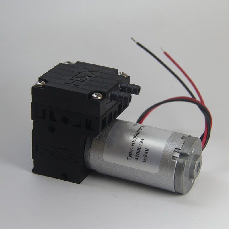 HX05-DC 12V/24V Brush 4.5L/min 1.5bar Miniature Diaphragm Vacuum Pump Mini Air Pump Small Industrial Pump