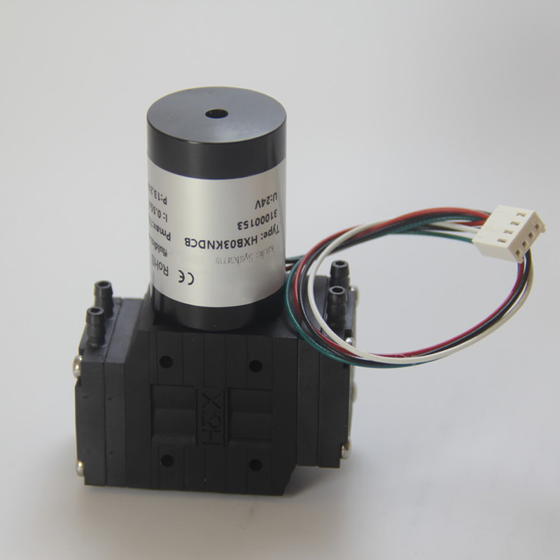 HXB03-DCB 12V/24V Brushless -80kPa Single Head Miniature Diaphragm Pump Micro Vacuum Pump Small Air Pump EPDM/PTFE