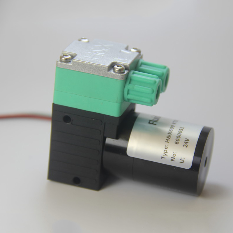 HX600-DCB2(B) 12V/24V Brushless Motor Speed Adjust Miniature Diaphragm Pump Small Water Pump Fluid Transfer Pump OEM Supply Wholesale